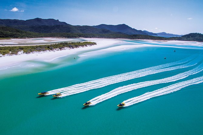 Ocean Rafting Whitehaven Beach and Derwent Hunter Whitsundays Sailing Adventure