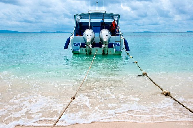 Private Speed Boat Charter to Phi Phi Bamboo Islands