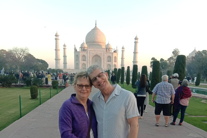 Private Tajmahal tour at sunrise from Delhi