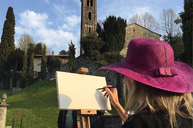 Esperienza artistica a Villa Melzi e pranzo a Bellagio