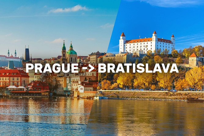 Prague-Bratislava One-Way Sightseeing Day Tour