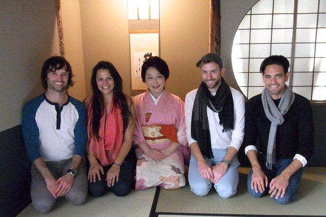 Enjoy Real tea ceremony in GINZA