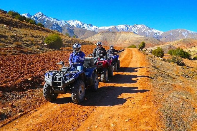 Marrakech Quad & Camel Ride and Traditional Spa