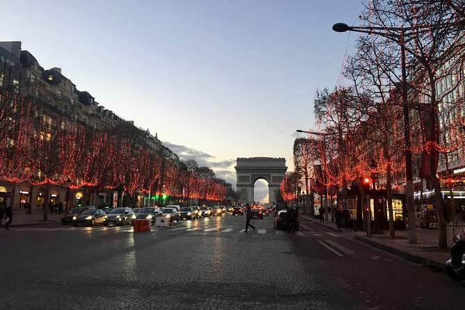 Kerst In Parijs De Champs Elysees En De Arc De Triomphe 2019