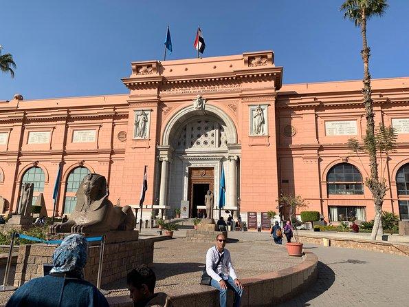 Pyramids of Giza & Egyptian Museum & Khan el Khalili Bazar from Cairo / Giza