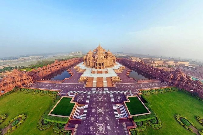 Akshardham Temple Evening Tour with Music & Laser Fountain Show
