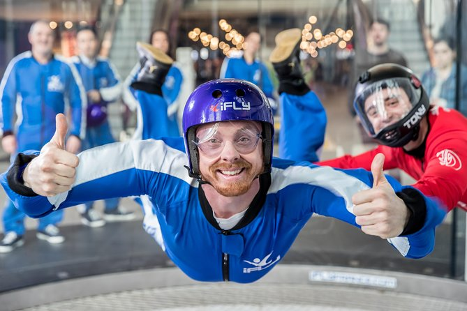 Manchester Indoor Skydiving Experience - 2 Flights & Personalised Certificate