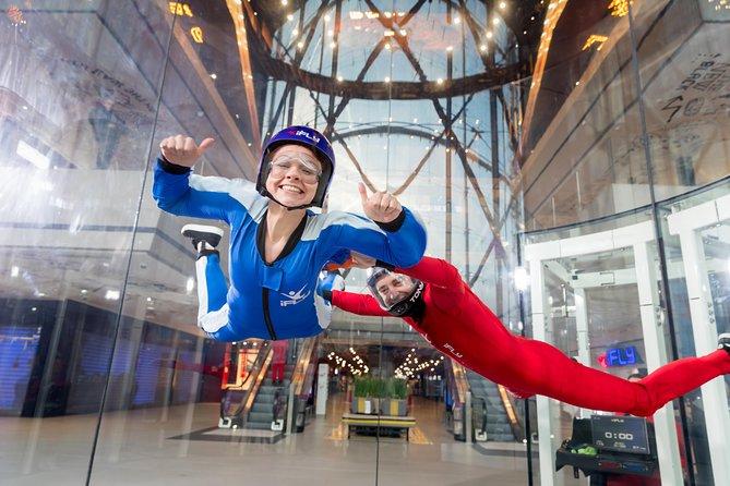 Milton Keynes Indoor Skydiving Experience - 2 Flights & Personalised Certificate