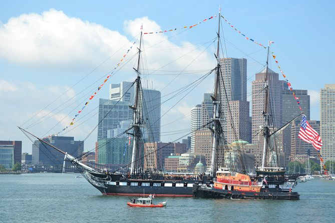 Boston Harbor Cruise to the USS Constitution & Navy Yard