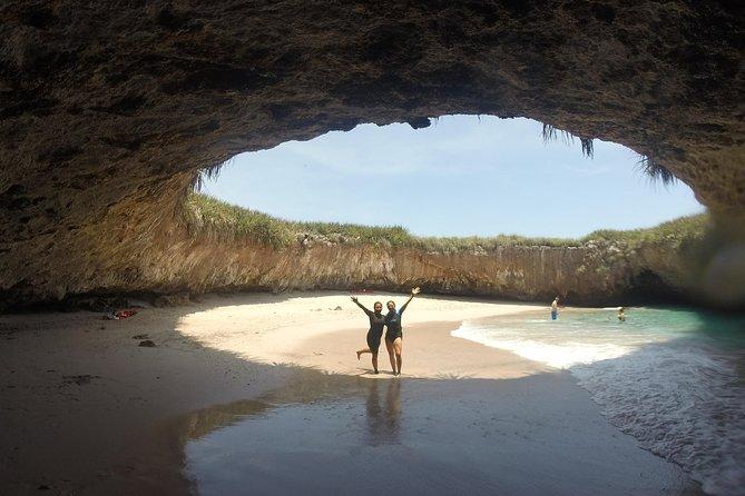 Snorkeling alle Isole Marietas e spiaggia nascosta (con restrizioni)