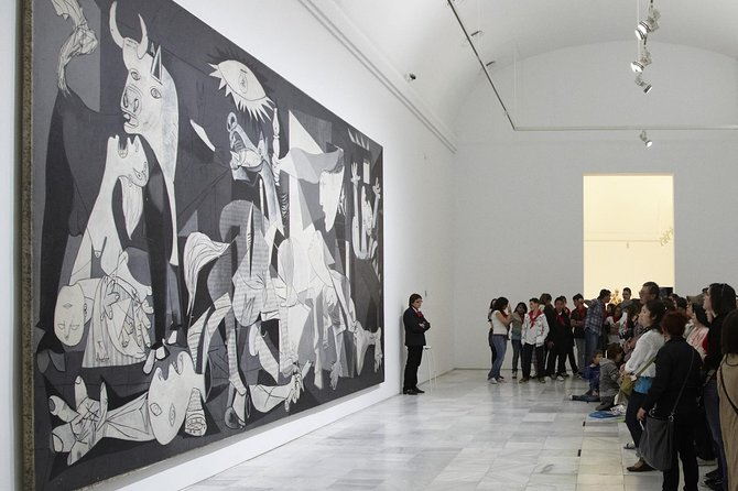 Skip-the-line Reina Sofia Museum Madrid Guided Tour - Semi-Private 8ppl Max