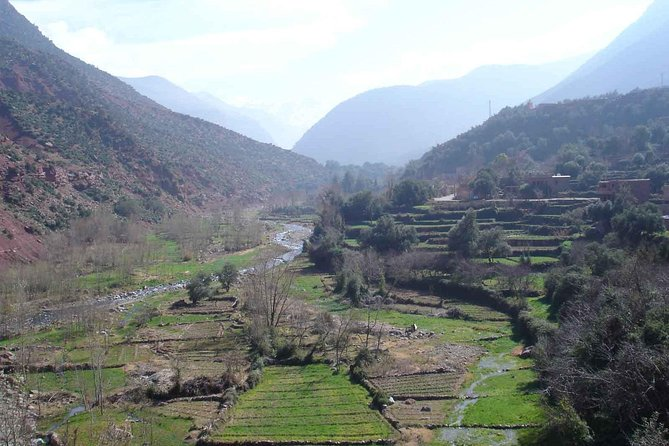 Day trip from Marrakech to Atlas Mountains and Ourika waterfalls