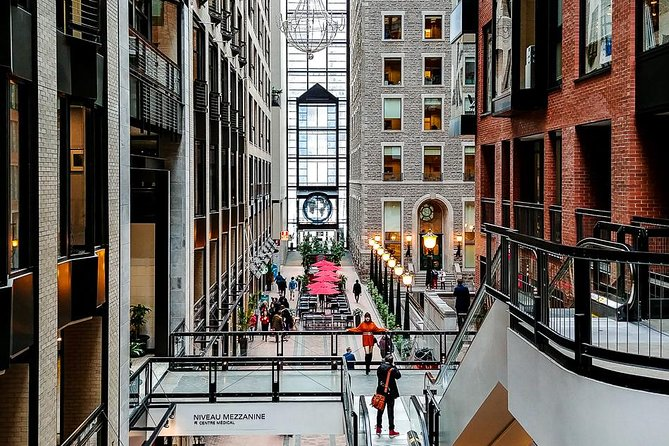 Discover the RESO: Montreal's Underground City Walking Tour + 360° Observatory, Montreal, CANADA