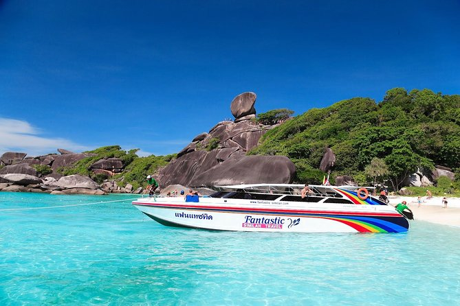 Full Day Tour Similan Island Speed Boat with Lunch photo 6