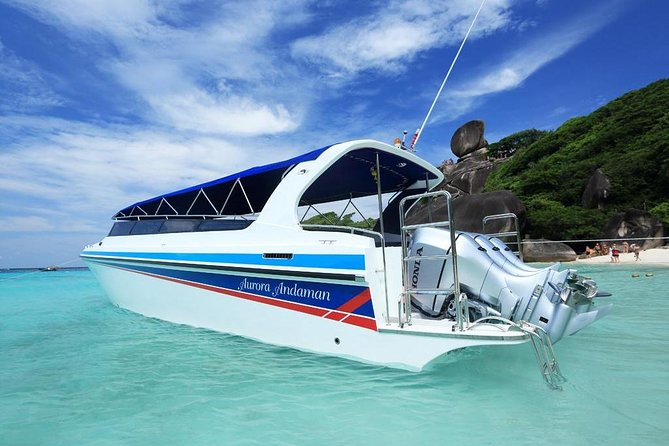 Full Day Tour Similan Island Speed Boat with Lunch photo 4