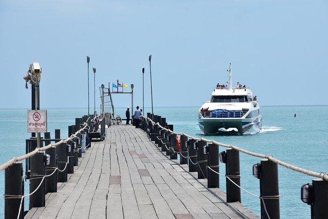 Koh Samui to Surat Thani Tapi Pier by Lomprayah High Speed Catamaran