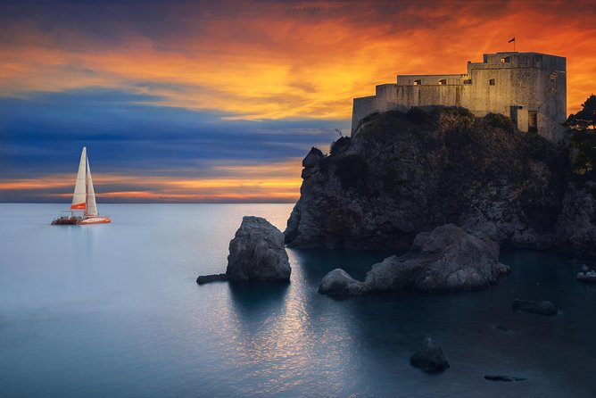 Dubrovnik Sunset: a Catamaran Journey of the Senses