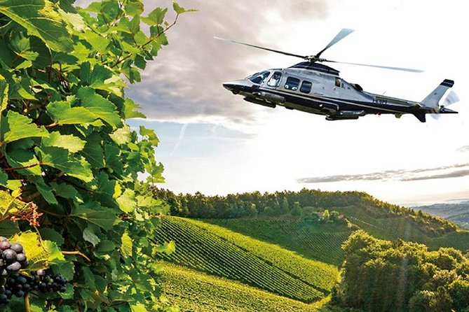 Helicopter Wine Tour over San Gimignano and Chianti hills