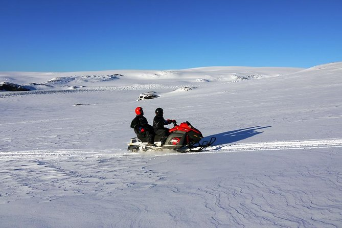 South Iceland Tour from Reykjavik with Snowmobile Adventure