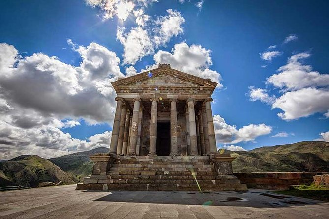 Affordable private tour to Garni pagan temple