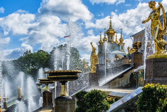 2 Half-Day Shore Excursions with Hermitage and Peterhof Gardens