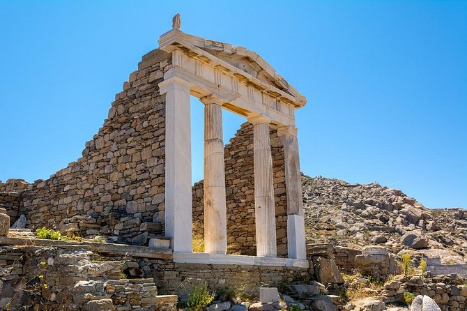 Delos and Mykonos One Day Cruise from Naxos