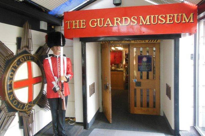 South Bank (London Bridge area) Walking Tour & Guards Museum Entry Ticket