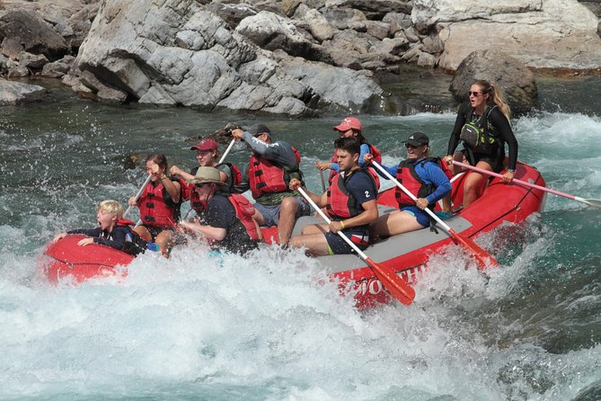 Half-Day Glacier National Park Whitewater Rafting Adventure