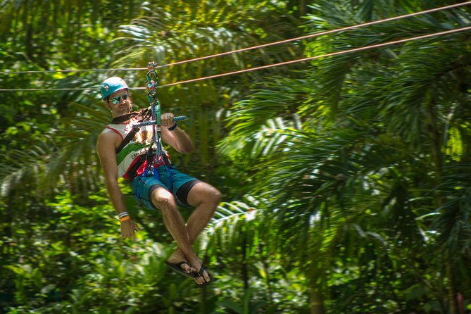 Ocho Rios Shore Excursion: Rainforest Adventures Sky Explorer and Zipline at Mystic Mountain Image