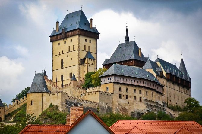 Karlstejn Castle And Glass Factory Excursion With Three Course Tasting Lunch