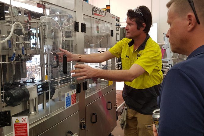Working the canning line at Lovedale
