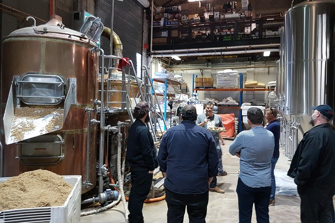 Tour of the Brewhaus at Hope Estate from the legend Michael Hope