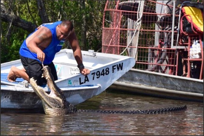 Private Bachelor or Bachelorette Airboat Swamp Tour in New Orleans