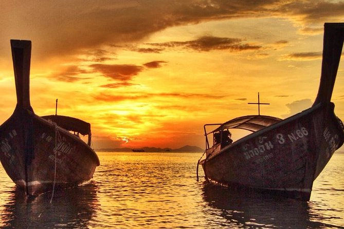 7 Islands Big Boat Sunset Tour from Krabi with Plankton Swim & Beach BBQ
