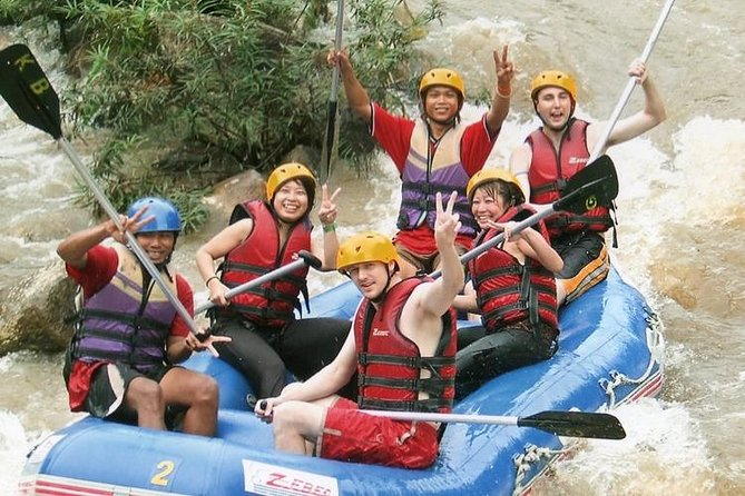White Water Rafting Adventure - 5km in Phang Nga bay