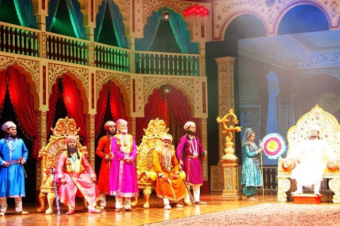 An Evening at Agra's Mohabbat The Taj Show with Dinner