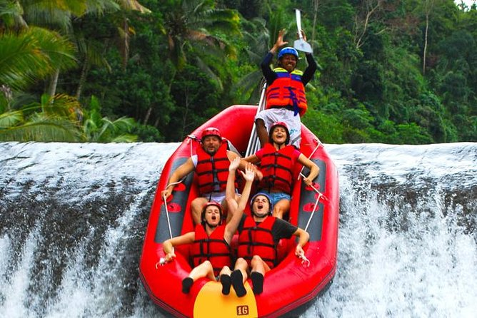 Rafting Telaga Waja ,Bali Jungle Adventure Park