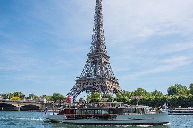 Paris Eiffel Tower and Seine Cruise Combo Tour