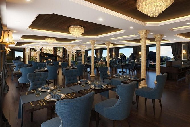 Le Theatre Cruises Lan Ha bay 2 days 1 night: the most luxury cruises & services
