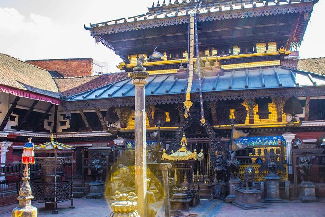 Private Tour of Patan with Durbar, Hindu Temple, Buddhist Vihar-Stupa and Museum