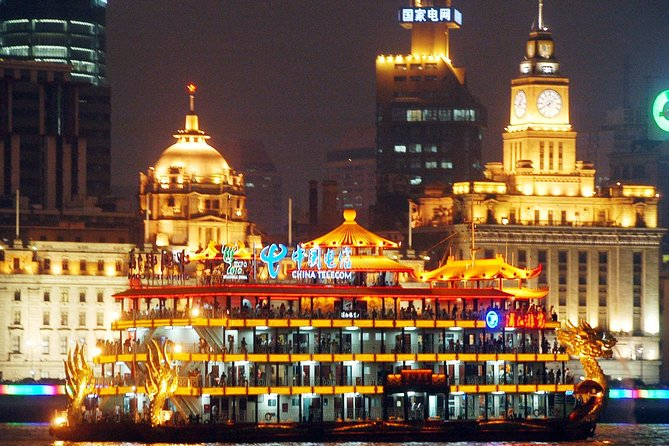 Huangpu River Cruise and Bund City Lights Evening Tour of Shanghai photo 9