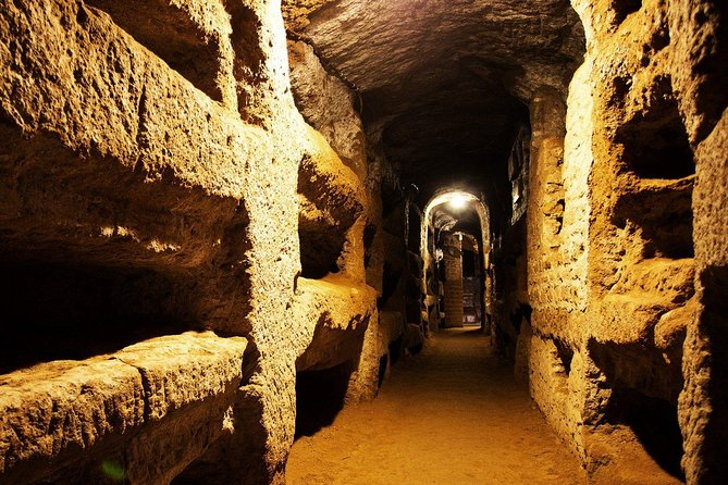 Catacombs and Rome Highlights Private Tour