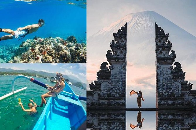 Full Day : Gate of Heaven Temple And Blue Lagoon Snorkeling With Tirta Gangga