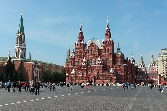 7 Days Private Tour Trough Moscow