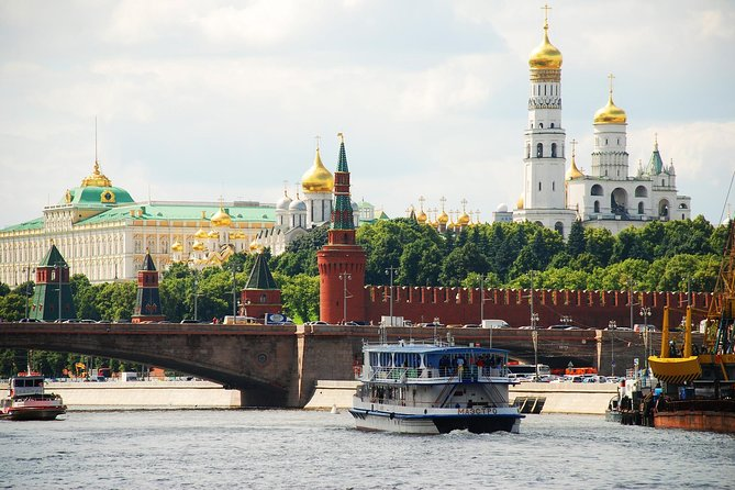 Private 4-Day Essential Moscow Tour with Pickup