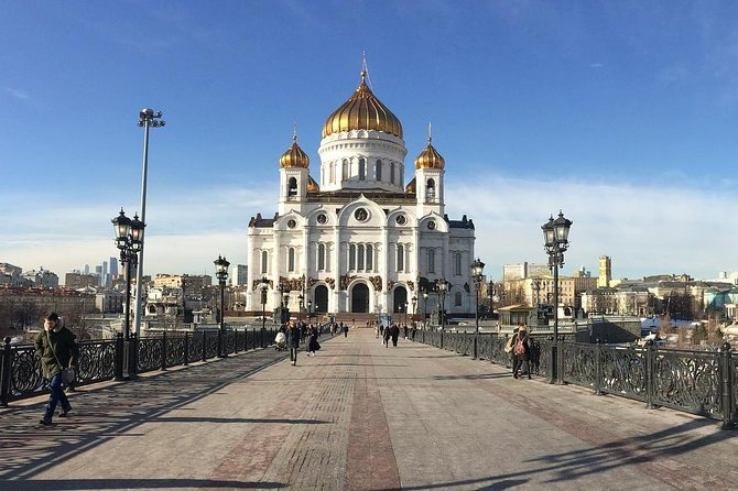 Moscow 3-Day Private Tour with Pickup and Entry Tickets