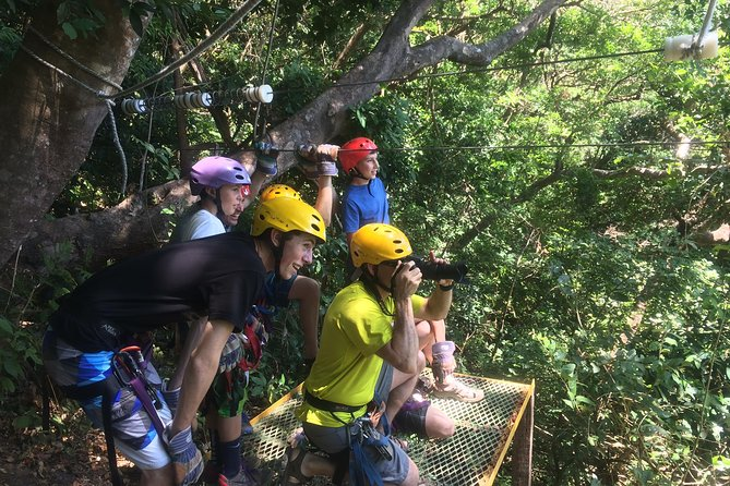 Private Zipline, Horseback Riding, and Hot Springs Combo Tour in Guanacaste