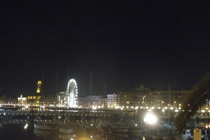 Bari By Night City Centre and Seafront Walking Tour