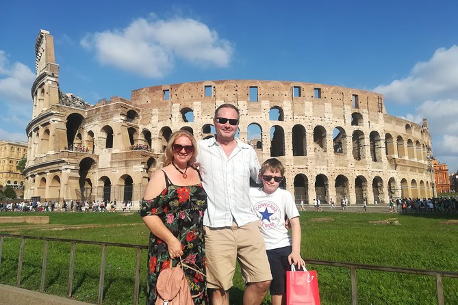Skip the line Kid-Friendly Colosseum Tour with hotel pick-up led by Alessandra