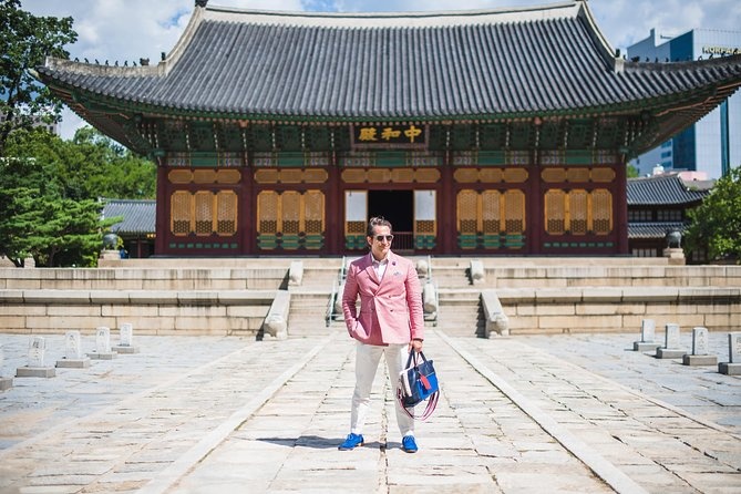 120 Minute Private Vacation Photography Session with Local Photographer in Seoul